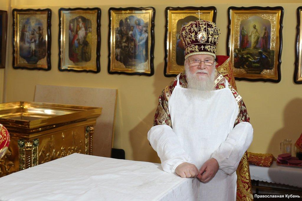 Освящение церкви Матроны Московской