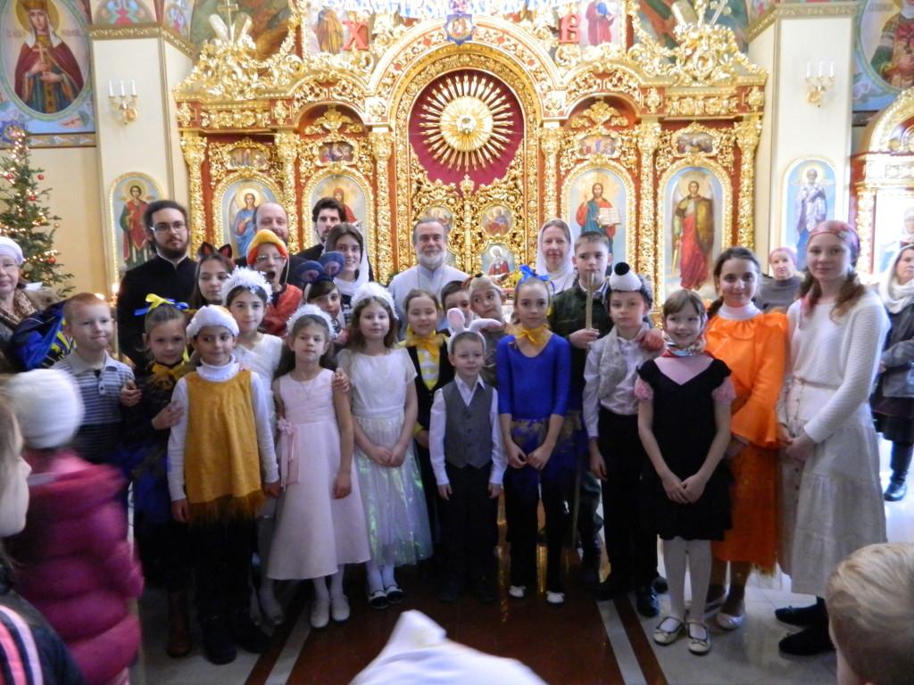 Рождественский детский спектакль. 8.01.2017 г.