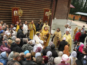 Престольный праздник. 2012 г.