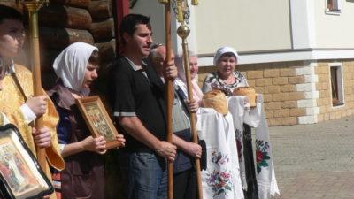 Пасхальное богослужение в храме св. Ап. Андрея Первозванного в Сочи