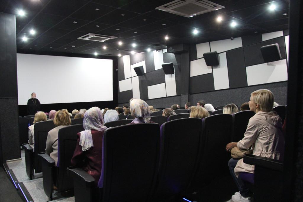 2016.09.25 Кинотеатр «Сочи». После показа картины «Наследники»