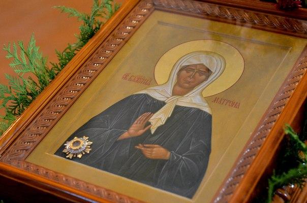 Икона Св. блаж. Матроны Московской